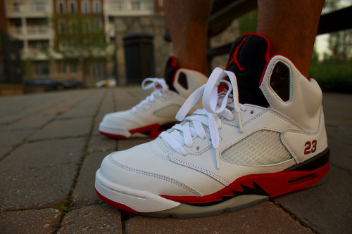 Jordan V's | Front View on Flickr.