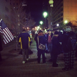 Oklahoma City officials gave Occupy OKC protesters to Thursday to vacate Kerr Park. To prevent the eviction, protesters filed a temporary restraining order and injunction Thursday against the city to stay downtown.   Now city officials say they will wait until a federal judge looks at the case before making any decisions.   Read more at NewsOK http://m.newsok.com/s?s=16&a=3628330&f=news