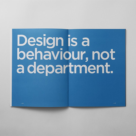 designoclock:  Design Integration Handbook  true story.