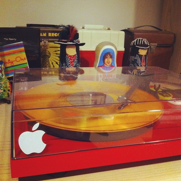 The iTurntable, #Apple circa 68' (Taken with instagram)