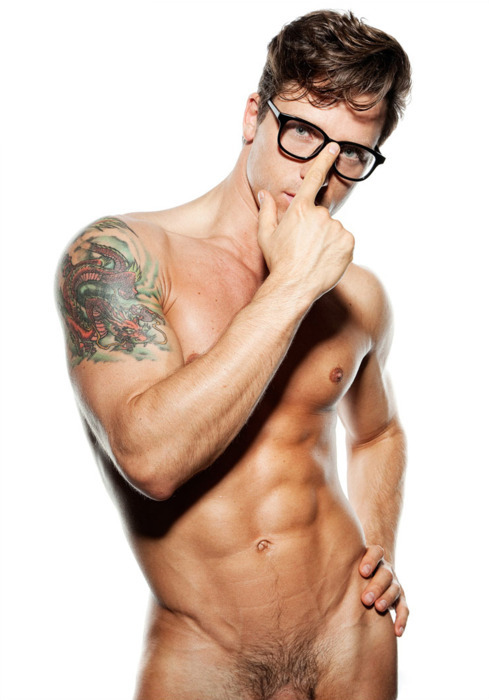 urbandud:  tats and glasses