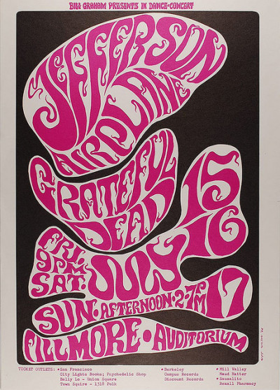 BG 17: Grateful Dead and Jefferson Airplane by Psychedelic Art Exchange on Flickr.