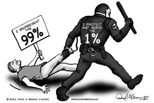 Protect and Serve #OWS