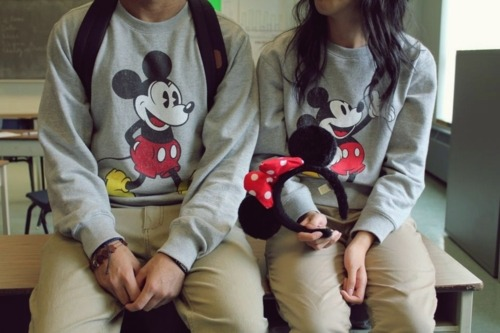 D'aww, this is cute ! I wish I had someone who would match with me. (: