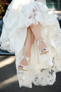 dreamingof4ever:  the shoes, the dress, its just so beautiful  I will have a shot like this of my dress
