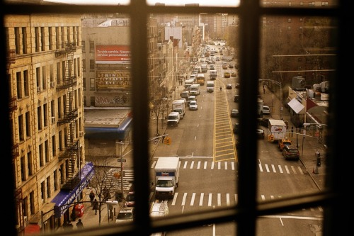 Spying on 125th St. - Harlem, USA, New York City