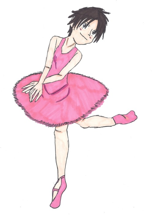 Izaya. Doing ballet. Your argument is invalid. (Reference photo for the pose is here. The original photo is so pretty.)