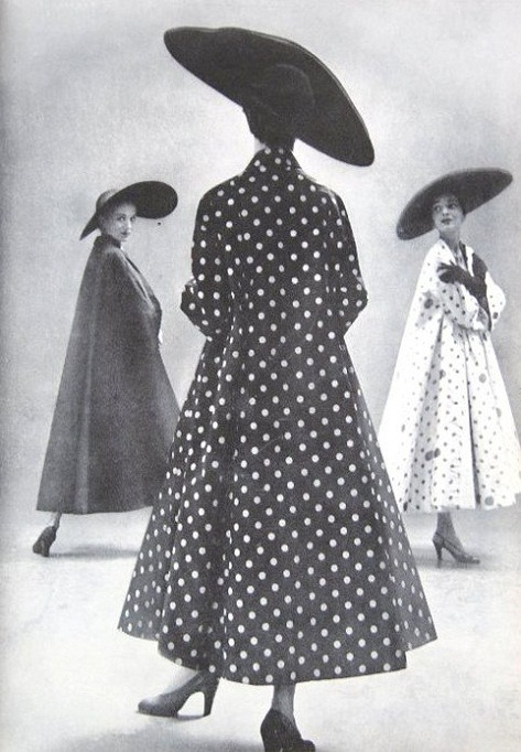 myamericandreamm:  Harper's Bazaar; Photography by: Richard Avedon-1949