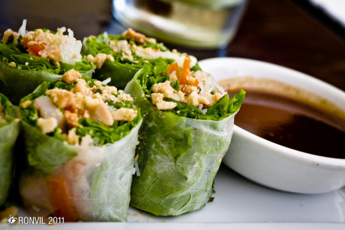 Vietnamese Spring Rolls sa isang Asian Cuisine Restaurant sa Session Road, Baguio City. Wala akong photo nung inorder ko, Pork in coffee sauce.