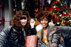 "Pebbles and Whitney Houston on ""Friday Night Videos,"" remember that?"