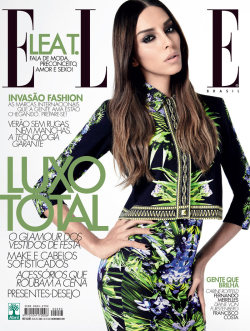 (via Lea T. Covers Elle Brazil December 2011   Film)