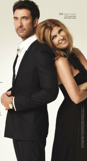 Connie Britton and Dylan McDermott, Boston Common Magazine, Jan 2012