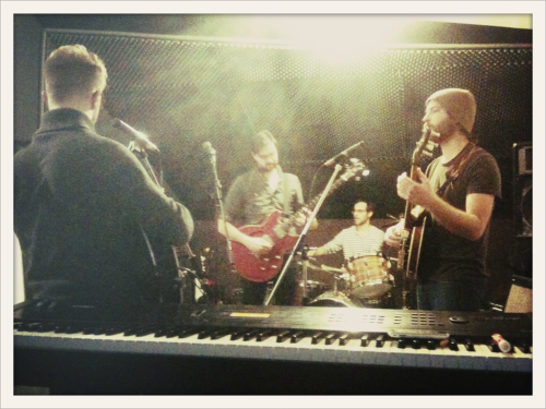 Practicing for a SOLD OUT show. We are as honored as can be right now…