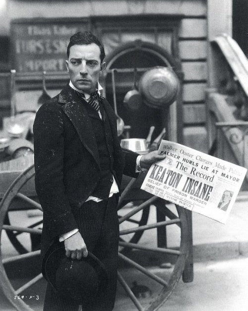 redfield:  Buster Keaton.