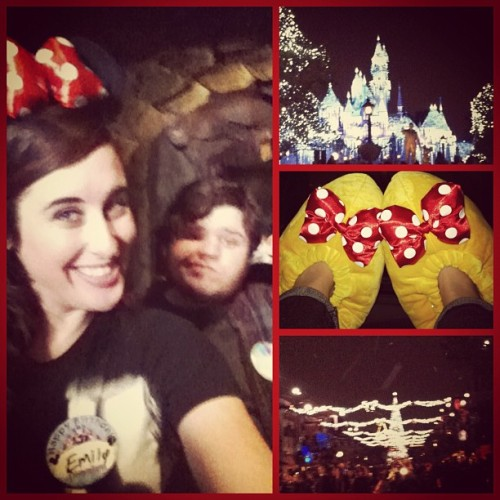 The perfect Disneyland day👍💛