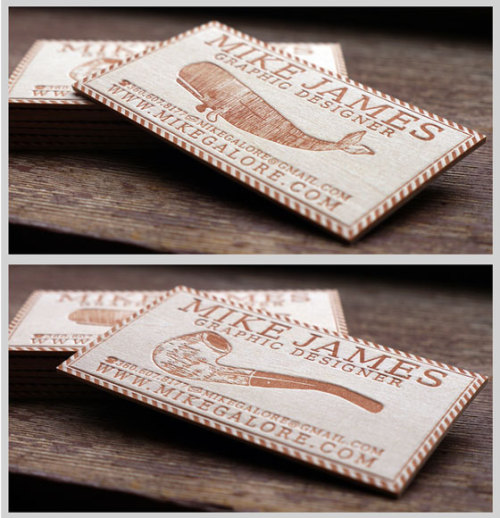 Lovin these letterpress business cards