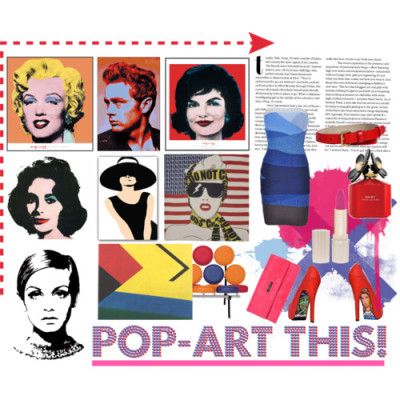 Pop-art this! by spiralsphere featuring leather beltsBandage dressDiesel leather wallet, £39Yarnz square scarve, £125Marc by Marc Jacobs leather belt, $120Paul & Joe Manhattan Collection Lipstick, $29Daisy Pop Art Edition by Marc Jacobs Perfume for Women 3.4 oz Eau de…, $75George Nelson Nelson Marshmallow Sofa in Vinyl, $2,804Warhol, Jackie 1964, $299Warhol, Shot Orange Marilyn, $129JAMES BOND & PIN-UPS Davide Cascio und Peter Stâmpfli, €36Audrey Hepburn XXL Pop Art Canvas Painting, £9.99Twiggy Pop Art Print, £2.99