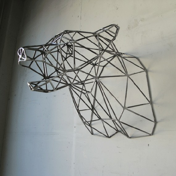 (via Bear Head by wyattellison on Etsy)