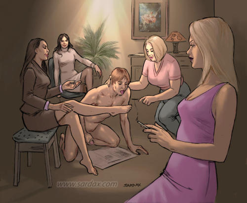chastewiddlesissy:  A bad Sardax illustration simply does not exist I agree!  This is SOOOO true. Agree completely. Gorgeous. I love hoe he's got a paper under him like a dog for when he makes a mess…