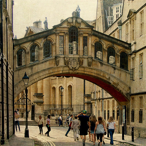 Bridge of Sighs, Oxford (by Miss Honey 78)