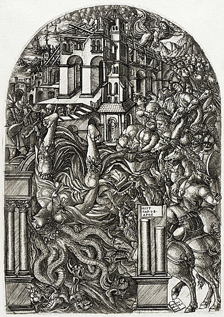 "The Fall of Babylon (circa 1555), engraving by Jean Duvet from the Apocalypse series    A concept I've recently become interested in: ""horror vacui,"" fear of empty space, which in the visual arts results in the artist filling the entire surface with detail. Examples of this include the above engraving or the work of outsider artist Adolf Wölfli.    More from The Last Psychiatrist:    