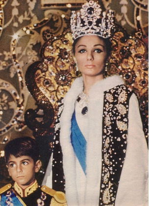 royaldesires:  Shahbanu And Crown Prince 26th October 1967  I feel that post 1979/Islamic Revolution, most people have an incredibly distorted view of the Iranian people.