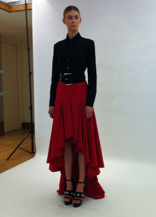 Michael Kors pre-fall 2012: Great season-less clothes inspired by the West.