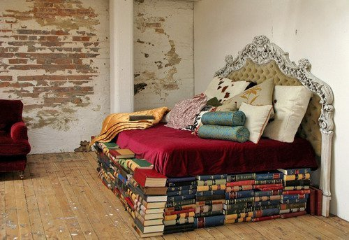 bibliophibious:  But…what if you need a book from the middle?
