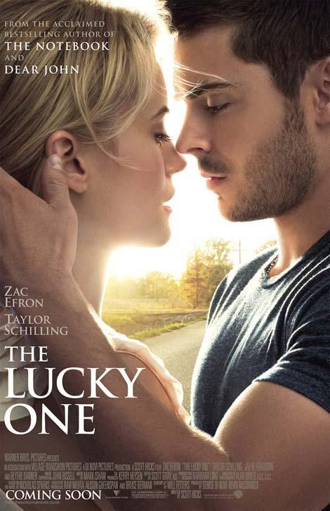 New poster for The Lucky One arrives  A new poster has been released for Scott Hicks' love story The Lucky One, featuring High School Musical's Zac Efron gazing into the eyes of actress Taylor Schilling.