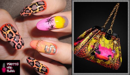 My Versace x H&M inspired nails…seen alot of these on tumblr and the whole collection is bangin' so here's my attempt!
