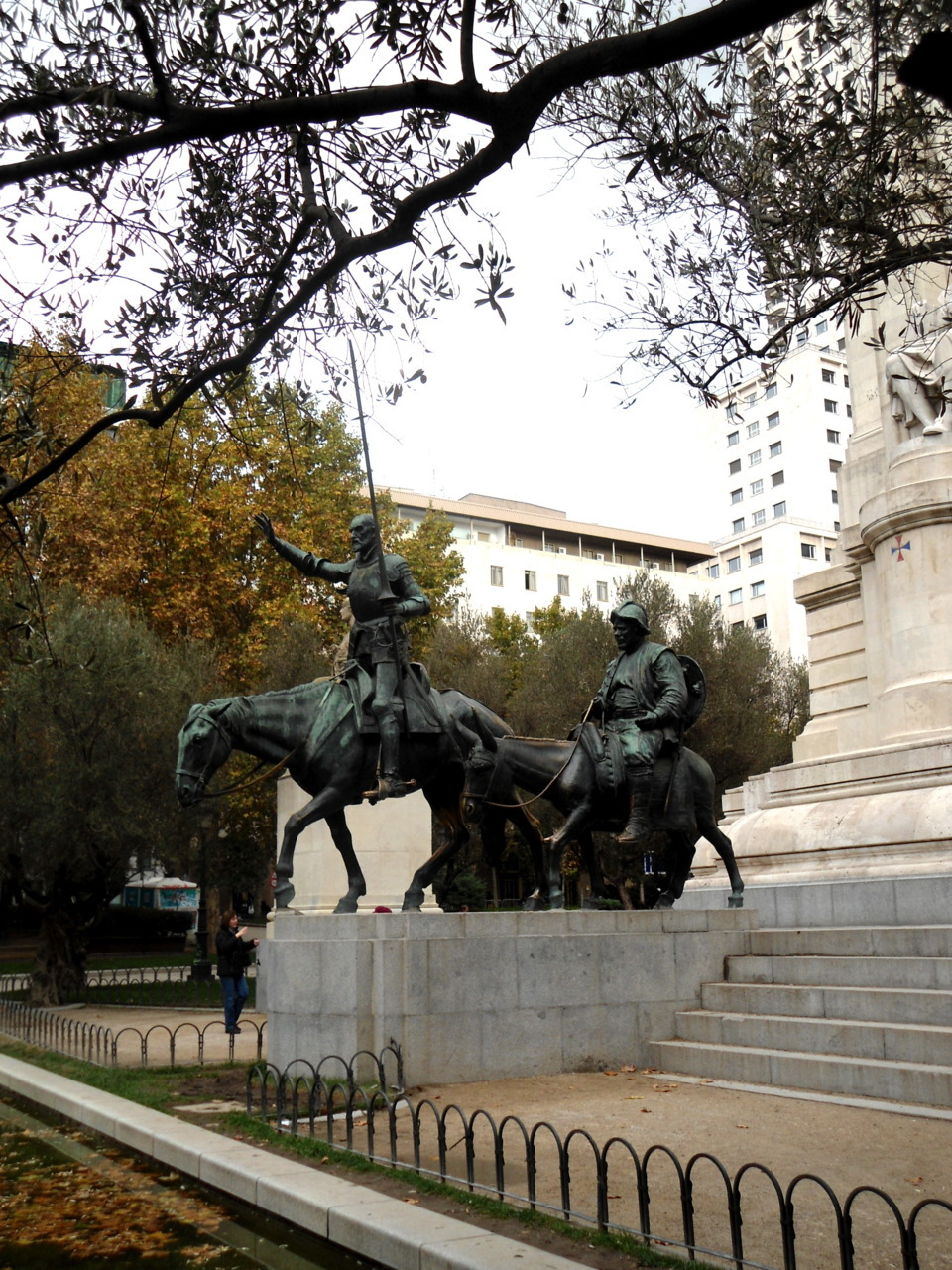 Don Quixote, Madrid, Spain