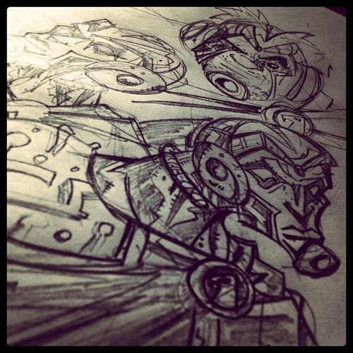 Súper #sketch  (Taken with instagram)