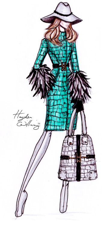 haydenwilliamsillustrations:  Hayden Williams Pre-Fall 2012 Preview