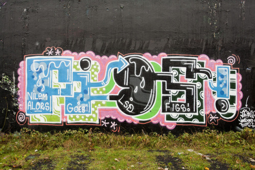 Newcastle Graffiti 2011 by apwbATTACK on Flickr.
