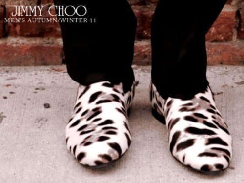 Jimmy Choo for men.