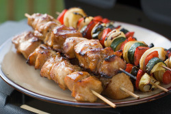 delectableeats:  Marinated Chicken and Vegetable Kebobs