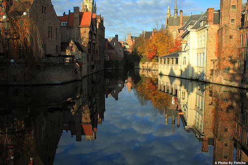 harmonyhobbit:  Reflections of Bruges - Explored By Fletche