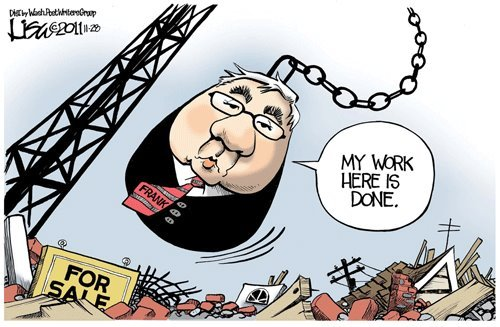 Barney Frank: My work here is done