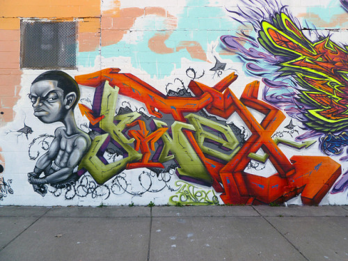 SINTEX. Detroit 2011 on Flickr.Sintex. #Detroit #Graffiti Writer.
