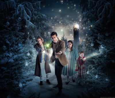 I continue to be extremely excited for the Doctor Who Christmas special.