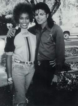 Whitney Houston & Michael Jackson - 1988