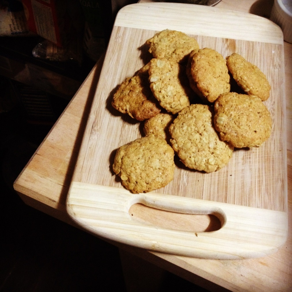 wholewheat oat cookies. click for recipe