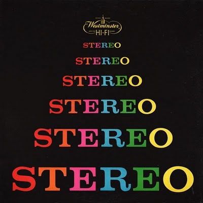 Stereo, LP cover