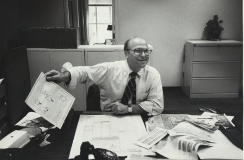 RIP Louis Silverstein, the guy who gave The New York Times its shine An unsung journalistic hero: Before Louis Silverstein, newspaper design was a trade, not a profession. With the many changes he made as art director of the Times in the 1960s and 1970s, he helped change that. White space? More ambitious typefaces? Larger fonts? Abstract illustrations? Those were all his doing. Many of the conventions that modern newspapers now take advantage of came (in part) from Silverstein's work. It took a lot of pushing, but Silverstein sold editors on these ideas. As a result, the Gray Lady is (and many other papers are) a lot less gray. And graphic design and news aren't separate entities. Silverstein died Thursday at 92. (Also worth a read:The Society for News Design has a lot of anecdotes about an important figure in visual journalism.) source Follow ShortFormBlog