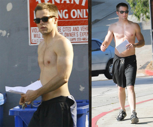 thequeerofallmedia:  Chris Pine Shirtless because i feel it post