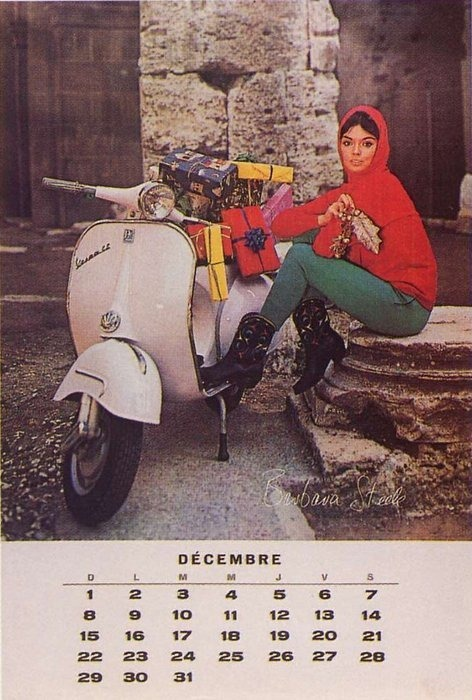 Happy Holidays!!…. (and yes, please get me this Vespa GS)