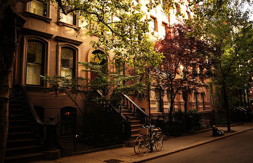 Perry Street, Greenwich Village, New York City.   So happy I get to call it home.