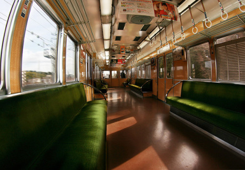 japanlove:  Empty train, Japan by The Other Martin Tenbones on Flickr.