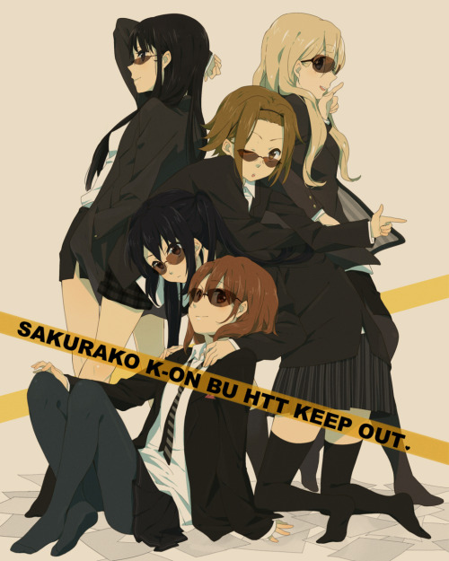 dystorce:  k-on butt keep out