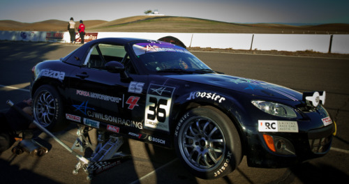 ryansbrother:  here's the car @jasonsaini is starting in tomorrow for the team…the ES class CJ Wilson Racing/ Forza 4 Mazda #zoomzoom #xbox #thunderhill25